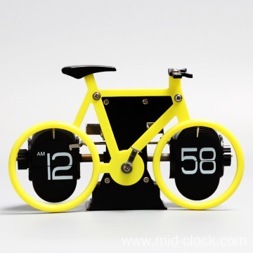AM/PM Showing Bicycle clock for home decoration